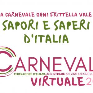 """""""A carnevale ogni frittella vale""""- Anche la Strada dell'Olio Dop Umbria aderisce al Contest Virtuale Nazionale"""